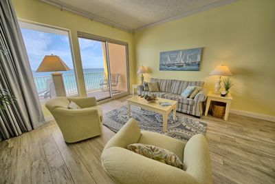 Great room with balcony access and spectacular view.