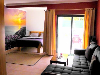 Photo for Apartment 300 meters from the Meia Praia beach, Pets check