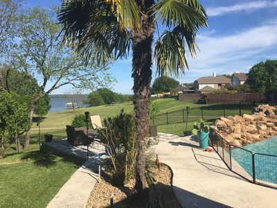Photo for Gorgeous Resort Like Lakefront Property 30 min from Downtown Dallas
