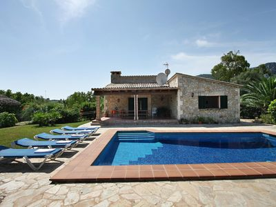 Photo for CARAGOLA. Holiday home in a rural location near Pollensa