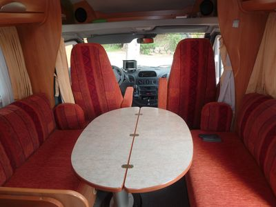 Photo for CAMPING CAR HYMER profile MERCEDES 7 m, 2 people all Corsica is yours.