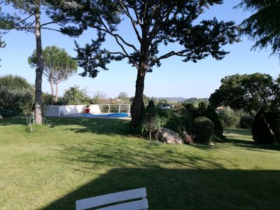 Photo for HOUSE PLAIN-PIED IN QUIET, PARK LANDSCAPE, 3 CH, SWIMMING POOL, EXCEPTIONAL VIEW
