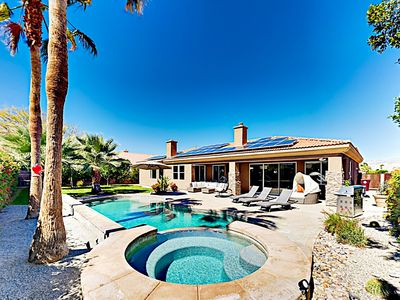 Photo for Gorgeous Upscale Desert Retreat w/ Outdoor Oasis - Heated Pool & Hot Tub