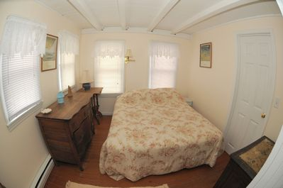Charming 1st Floor BR with queen bed.