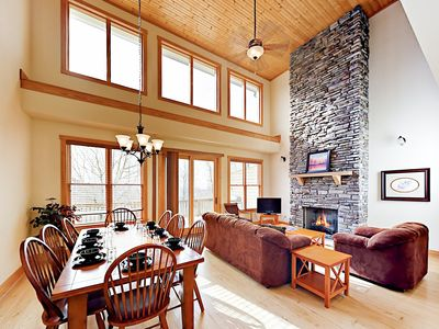 Living Room - Welcome to Mars Hill! Your rental is professionally managed by TurnKey Vacation Rentals.