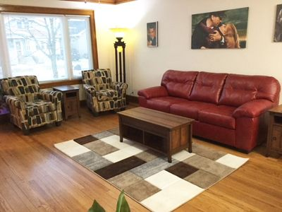Great entertainment space for friends and family.