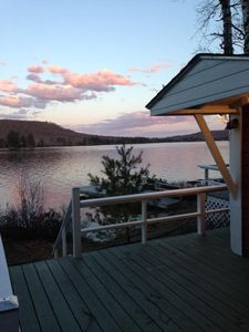 Photo for LAKE FRONT COTTAGE - FALL, SPRING OR SUMMER - ALWAYS PERFECT