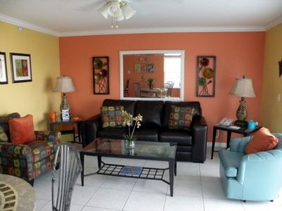 Photo for 2 Bedroom & 2 Bathroom On The Gorgeous Beach Of Treasure Island