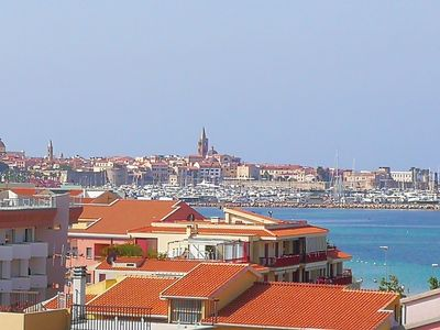 Photo for Champagne mansard total sea view.