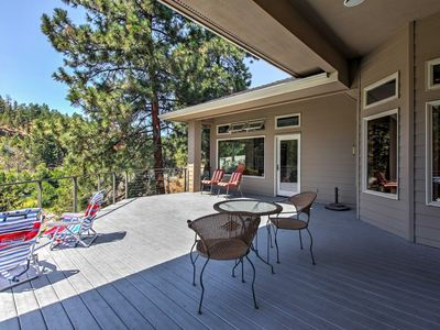 Photo for Riverfront 3BR Bend House w/Hot Tub, Views & Deck!