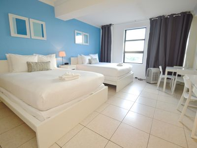 Photo for Design Suites Hollywood Beach 749 AC - One Bedroom Apartment, Sleeps 4