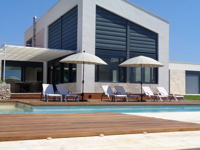 Photo for Modern villa with pool - Villa Canutells