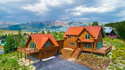 Photo for Luxury 5 Bedroom Home with Hot Tub, Gourmet Kitchen, Incredible Views!