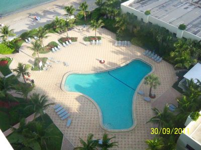 Photo for Condo front beach fll