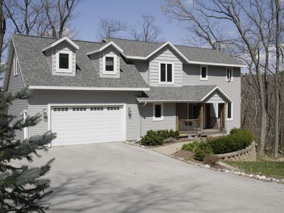 Modern 3 Bedroom Home in Quiet Forest Setting Very Near Elkhart Lake, Wisconsin