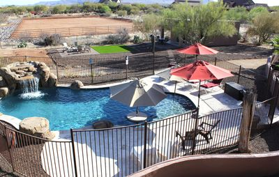Photo for LUXURIOUSLY QUIET N Scottsdale Western Casita w/Pool, Views, Hiking, Golf, RZR!