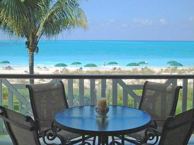 Photo for BEST OF ROYAL WEST ..... BEACHFRONT Premium Suite on Grace Bay