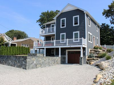 Photo for New Construction Luxury Home in Bonnet Shores 1/4 mile walk to Kelly Beach!