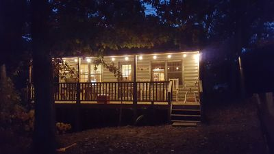 Cabin with Lights