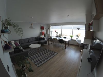 Photo for Cozy place with amazing panorama of Reykjavik.