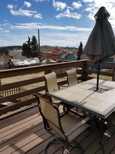 Photo for Romantic/Family/Pet*CLEAN*UPDATED*Walk to Casinos~Fireplace~Deck~Mnt Views~Grill