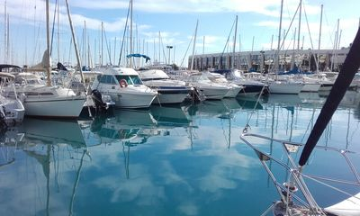 Photo for Lovely 8m sailboat rental docked in the heart of the French Riviera