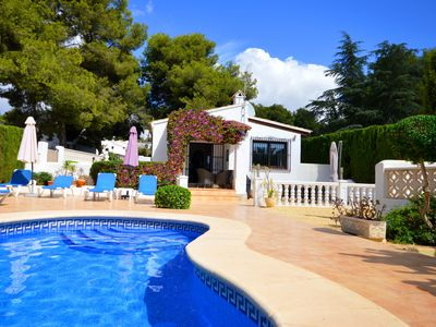 Photo for Detached Villa with Private Pool and Garden - email - Casa-rosa@live.co.uk