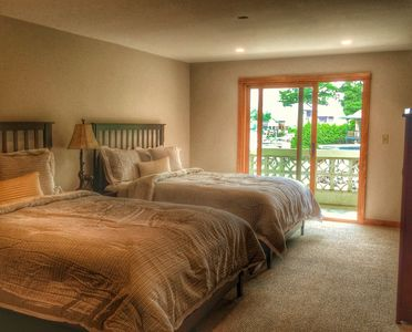 Photo for Cozy Main Street Lake Placid Suite 4- Great Value for your getaway