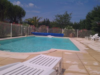 Photo for MAS DES MOULINS - Countryside, 10min from Downtown, Large Pool, Sleeps 18