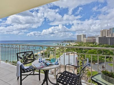 Photo for REMODELED! Oceanview 1 bedroom, kitchen, washer/dryer, A/C, WiFi, sleeps 4.