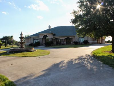 Photo for Beautiful Texas Country Villa Perfect For Weekend Getaways and Events