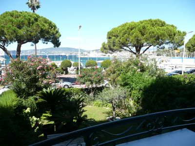 Photo for flat tip Croisette Cannes bay view