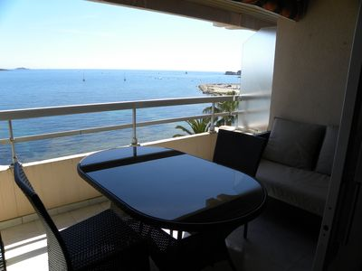 Photo for 2 Room Apartment 47 m² + Terrace. Sea Front - Panoramic Sea View
