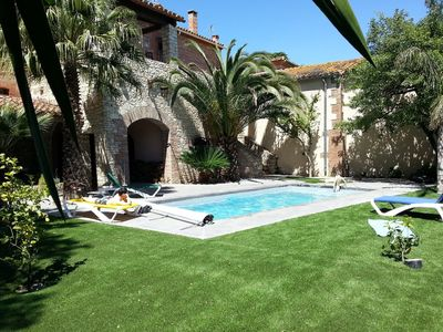 Photo for Grand Mas Catalan, 352 m² livable, with heated swimming pool.