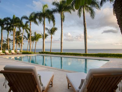 Photo for Oceanfront Paradise in Casa de Campo, Full Staff including Chef, Housekeeping, Pool, AC, Free Wifi
