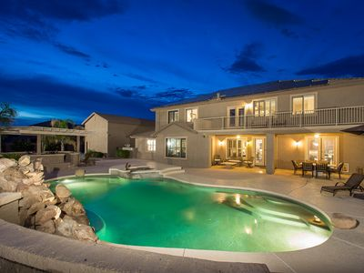 Photo for Grand Slam Getaway Spacious 5 BR Home/ PVT Pool/ Putting Green/ Surprise