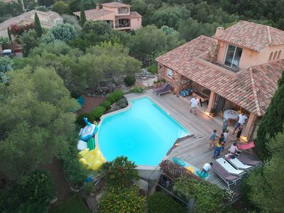 Photo for Luxury villa with pool in Porto Vecchio