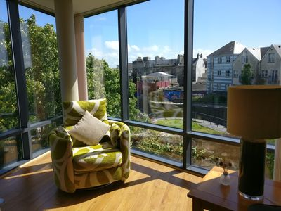 Photo for Exceptional Galway City Apartment with River Views