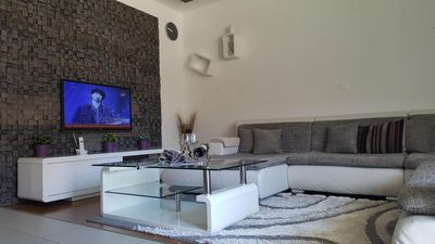 Photo for Two bedroom apartment with air-conditioning Podstrana, Split (A-13555-a)
