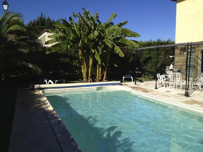 Photo for air-conditioned villa comfortable, quiet with beautiful pool near Cannes