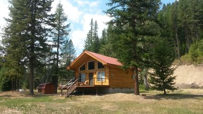 Photo for Off Grid Secluded Cabin In Whitepine Creek Valley
