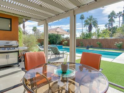 Photo for Mid-Century Palm Springs Getaway w/ Pool, Spa & Fire Pit - Near Downtown