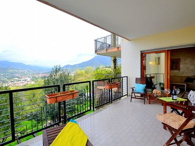 Photo for Appartamento Armonica: An elegant and welcoming apartment situated on a hillside in a residential area.