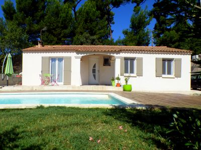 Photo for Nice modern house for 6 people at the foot of Ventoux