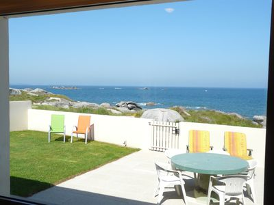 Photo for Villa 'Ty Ar Roch', Directly with  sight on sea