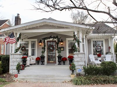 The Dahl House at Christmas! We decorate every holiday to make you feel at home!