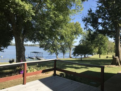 Photo for Nashville area Lakefront Home with Private Dock, Pontoon Boat Rentals close by