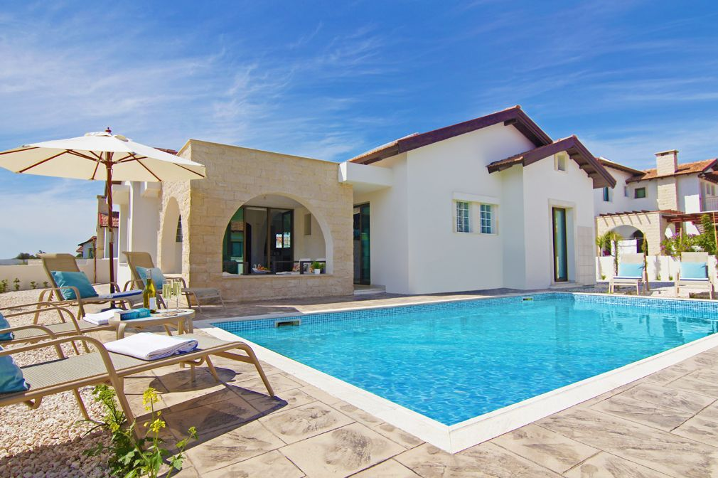 Merveilleux Odessa Villa   Deluxe Single Storey Villa With Private Pool, Located In The  Coastal Area Of Ayia Thekla And Just 300 Meters From The Sea! Free WiFi    Sotira