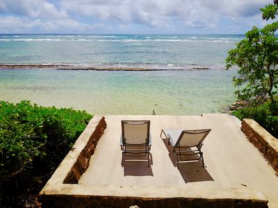 Photo for Spacious Paradise BeachFront Property - Swim, Paddle, Snorkel, RELAX in Hawaii