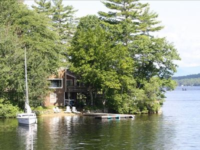 Photo for AMAZING Lake Winnipesaukee Retreat!